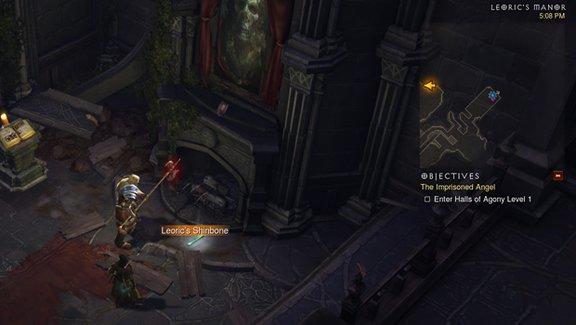 Diablo 3 Piszczel Leoryka