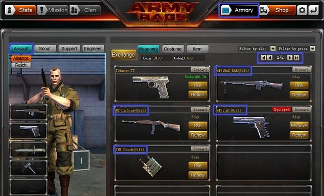 Army Rage Bronie