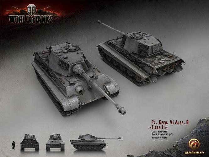 Tiger II World of Tanks poradnik