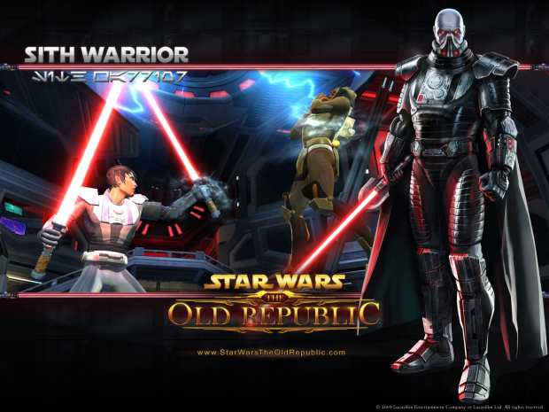 Star Wars The Old Republic Sith Warrior