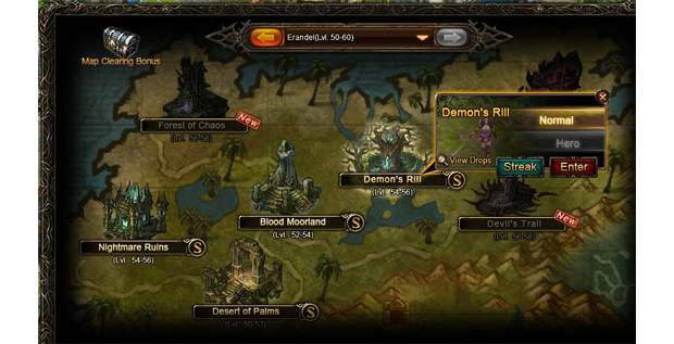 Wartune Campaign Dungeons