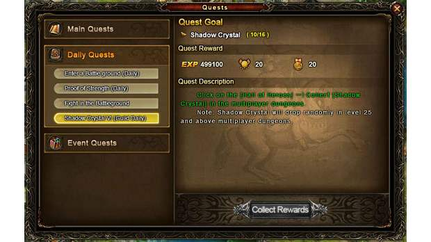 Wartune Daily Quests