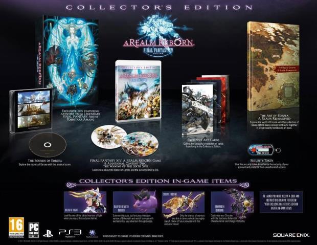 Final Fantasy XIV edycja kolekcjonerska