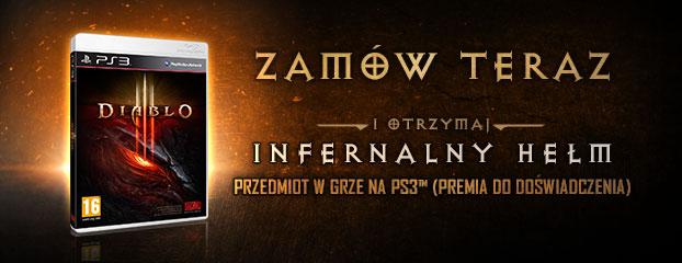 Diablo 3 Infernalny Hełm
