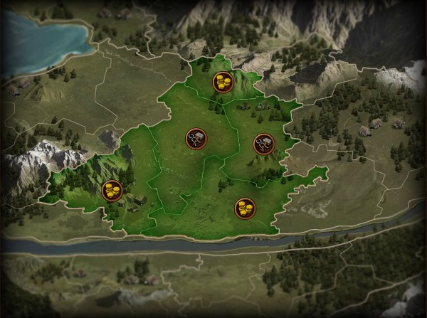 Forge of Empires Mapa