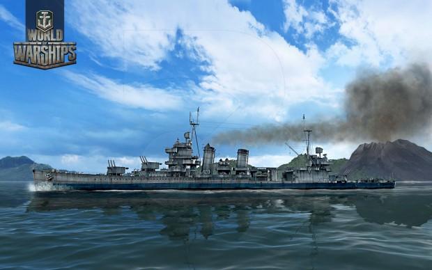 World of Warships amerykańskie okręty